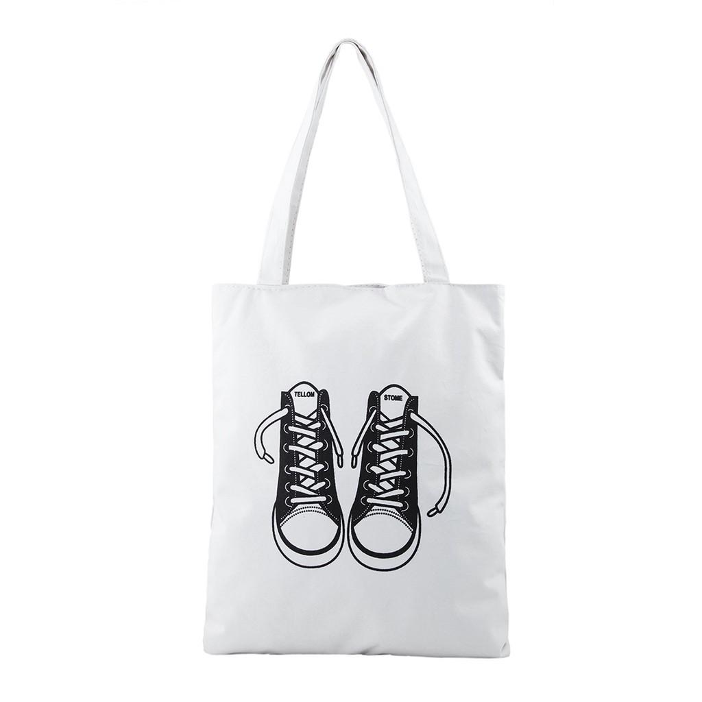Túi Vải Đeo Vai Tote Bag Đôi Giày