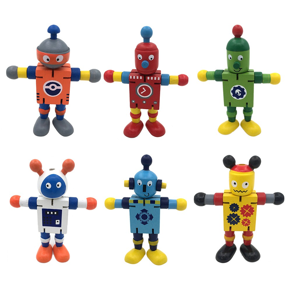 Wooden Early Educational Toys Creative Personality Building Blocks Toys