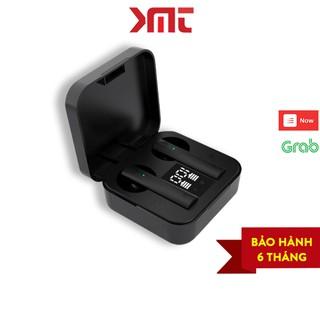 Tai nghe bluetooth không dây mini 5.0 thể thao gaming chống nước IPX5 hiển thị đèn LED số phần trăm pin KMT Store