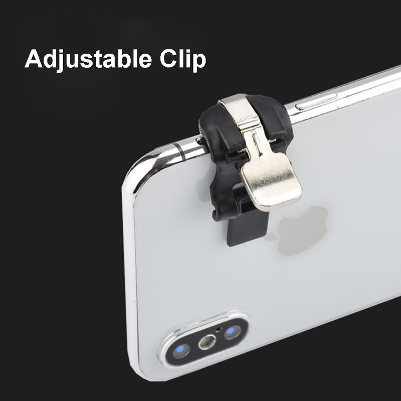 IPHONE Mobile Nút Bấm Điều Khiển Chơi Game Bắn Súng L1 R1 Cho Điện Thoại Android Ios 1 Cặp