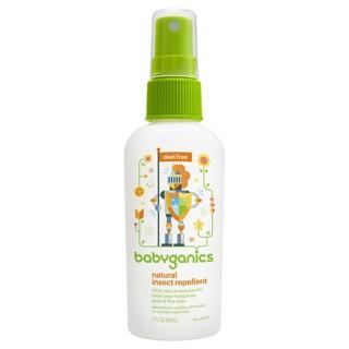 Tinh dầu xịt chống muỗi Babyganics 59ml (Mỹ)