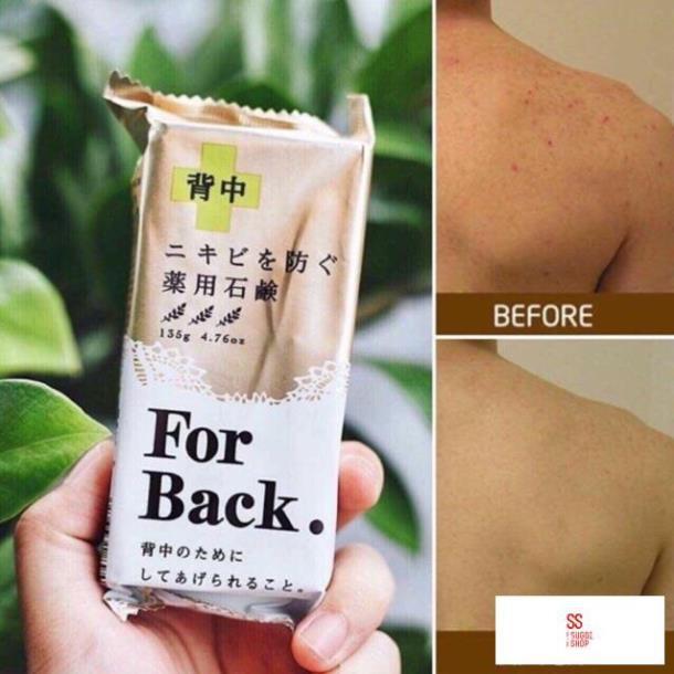 Xà phòng làm giảm mụn lưng For Back Pelican Nhật Bản