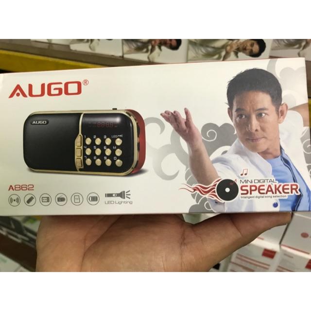 Radio AUGO đọc thẻ SD và USB 2 pin