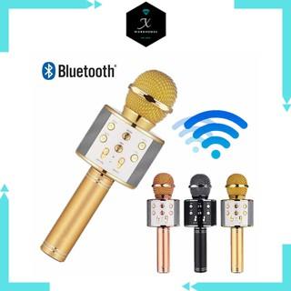 Micro bluetooth karaoke WS858 loại 1 thumbnail