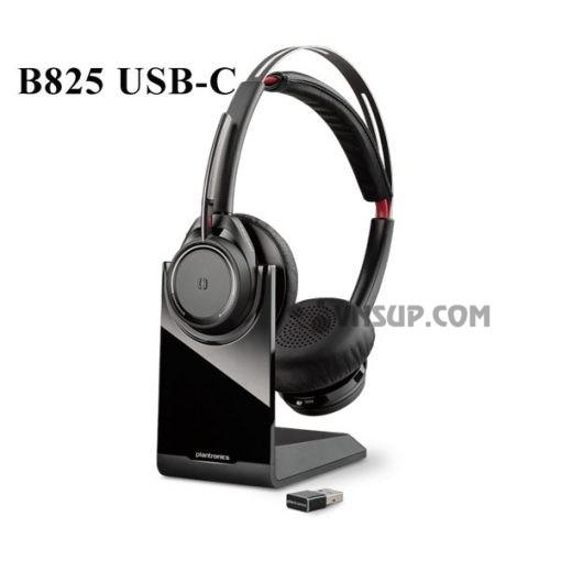 Tai nghe Plantronic Voyager Focus UC B825 USB C