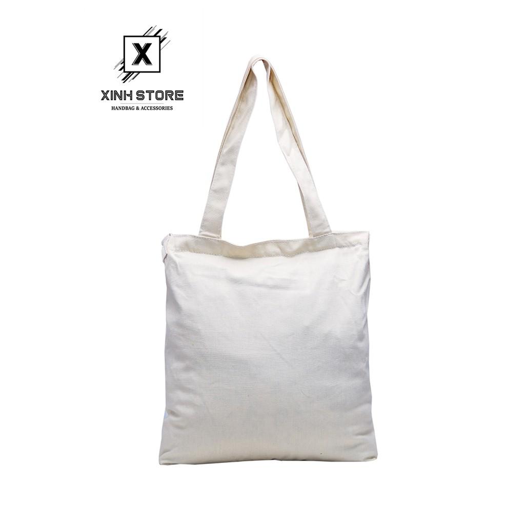 Túi Vải Tote 3 Dây Cao Cấp Kem Xinh Store