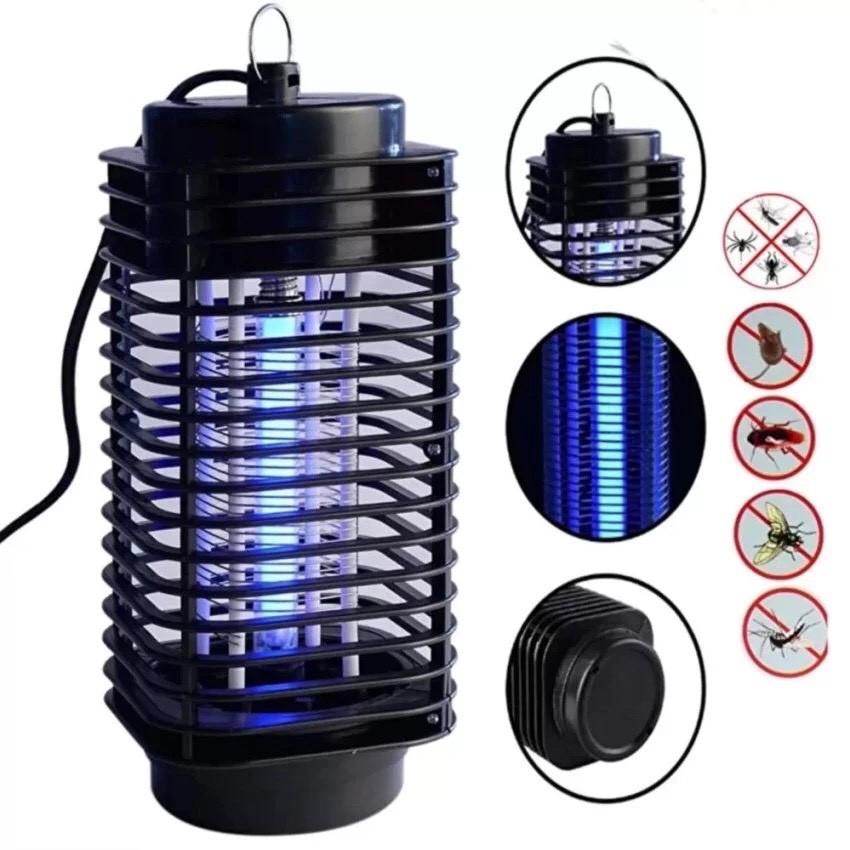 Đèn Ngủ Bắt Muỗi Đèn Bắt Muỗi Diệt Côn Trùng Hình Tháp 3D Tower BH 12 Tháng