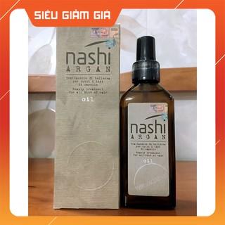 [ Hot Deals ] Nashi-Italia Tinh dầu dưỡng tóc Nashi Argan Oil phục hồi tóc hư tổn 100ml - S001