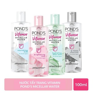 Nước tẩy trang Vitamin Pond s Micellar Water 100ml thumbnail