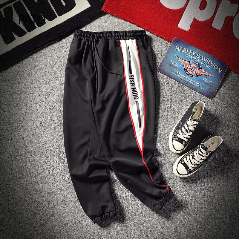 recommended fashion sports pants everyday boys sports trousers Spot sweatpants Korean high quality trousers must buy K