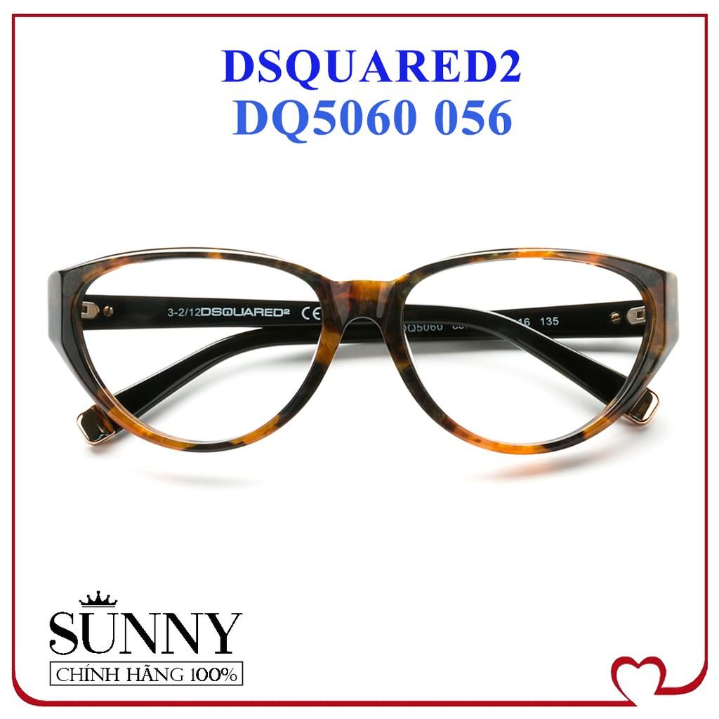 DQ5060 - - Gọng kính Dsquared2 chính hãng Italy