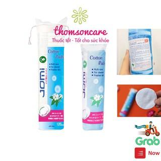 Bông tẩy trang Jomi - nhập khẩu từ Nhật Bản - Cotton Pads - tẩy sạch bụi bẩn, bã nhờn, lớp trang điểm thumbnail