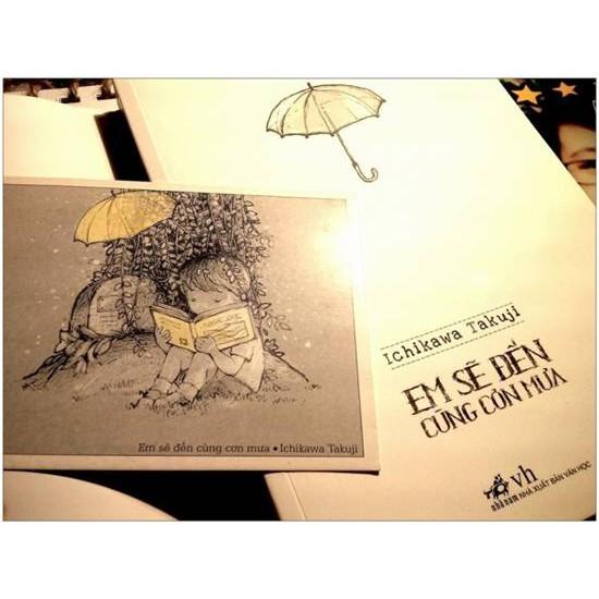 Cuốn sách Em Sẽ Đến Cùng Cơn Mưa - Ichikawa Takuji