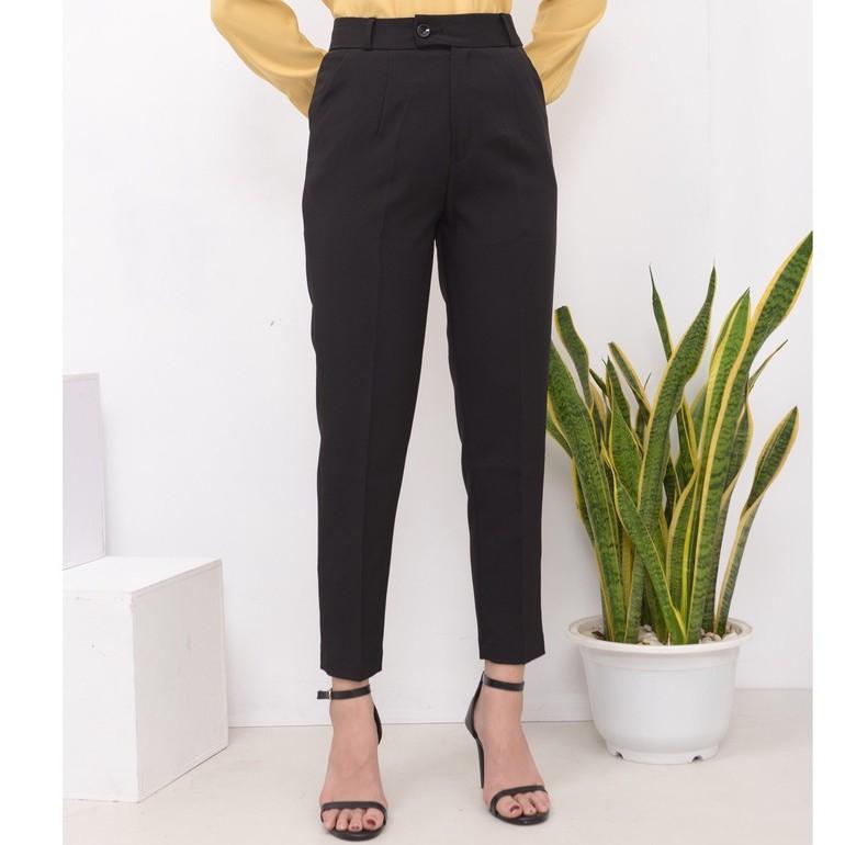 Mặc gì đẹp: Đẹp với Quần công sở nữ kiểu baggy, phom đẹp, vải nhẹ, 3 màu siêu đẹp, phù hợp mọi vóc dáng Q-01