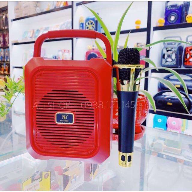 Loa Karaoke Bluetooth Ys-A20/19 Tặng míc không dây siêu hay - hàng cao cấp - Loại 1