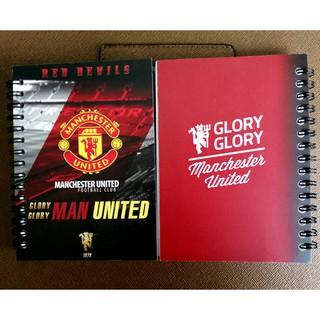 [Mã FASHIONHOT27 giảm 10K]Sổ note 150 trang Manchester united