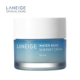 Kem dưỡng da giàu độ ẩm LANEIGE Water Bank Sherbet Cream 50ml