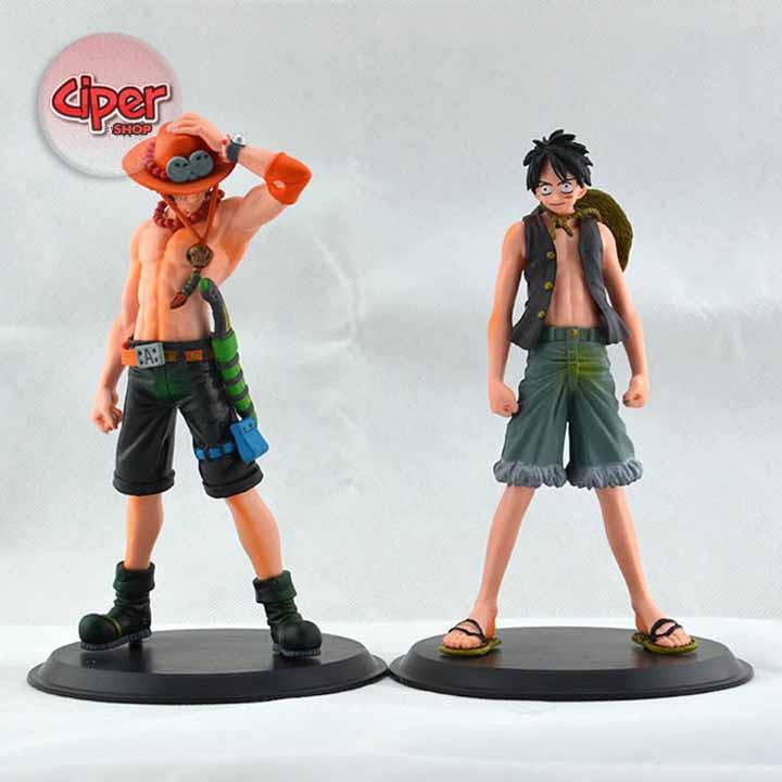 Mô hình anh em Luffy - Ace - Mô hình One Piece