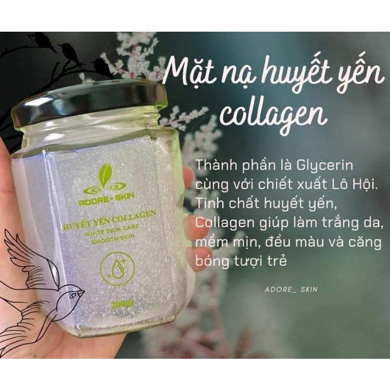 Huyết yến collagen Adore-skin