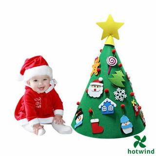 Cây Thông Giáng Sinh 3d Bằng Vải Nỉ