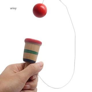 ♞Japanese Traditional Wooden Kendama Ball Game Balance Skill Educational Toy