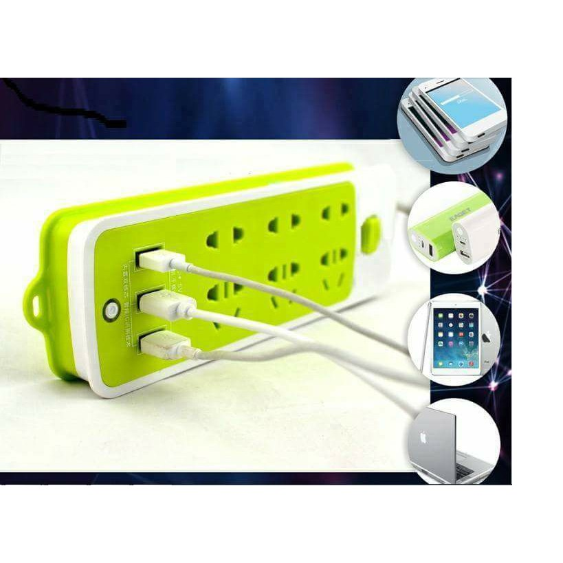ổ cắm điện chống giật cắm trực tiếp đầu sạc USB (ảnh thật)