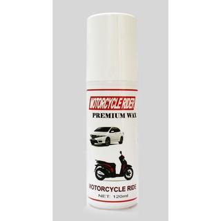 [Siêu Giảm Giá] Wax làm bóng sơn và nhựa nhám cao câp Motorcycle Rider Wax 120ml thumbnail