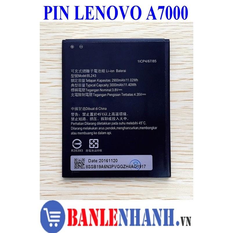 PIN LENOVO A7000