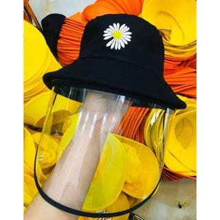 Mũ chống dịch hoa cúc hot trend 2020 🌈Nón chống dịch chống bụi, dịch đẹp