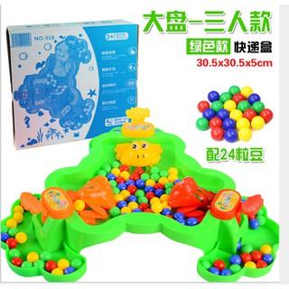 Bộ đồ chơi ếch ăn đậu kèm 48 bi và 3 chú ếch