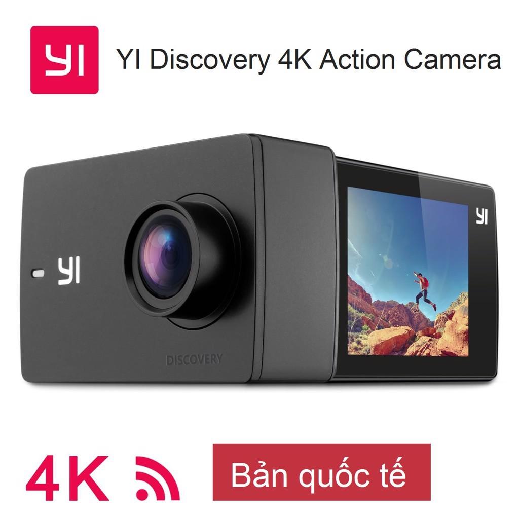 Camera hành động Yi Discovery 4K Action Quốc Tế