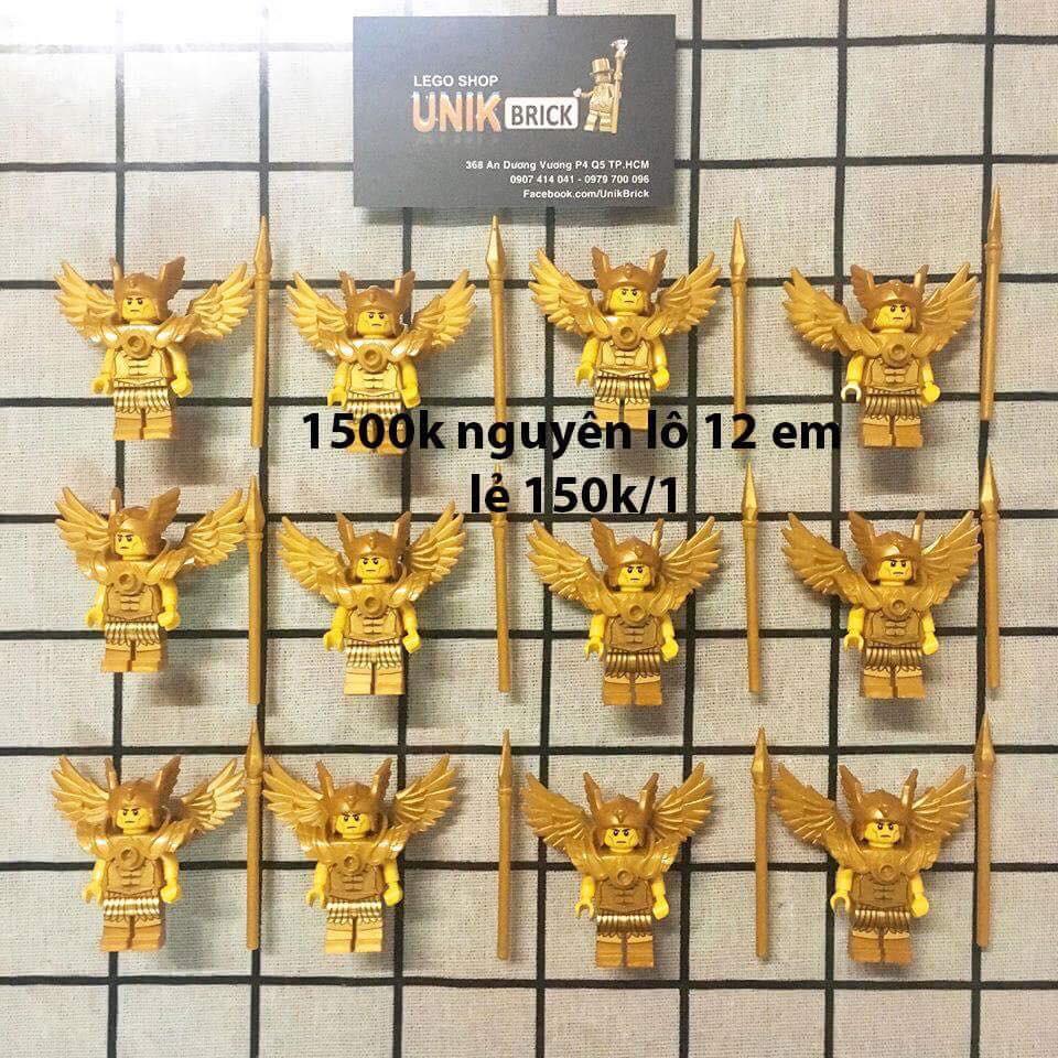 Lego UNIK BRICK lô 12 flying warrior trong minifigures series 15 chính hãng (như hình).