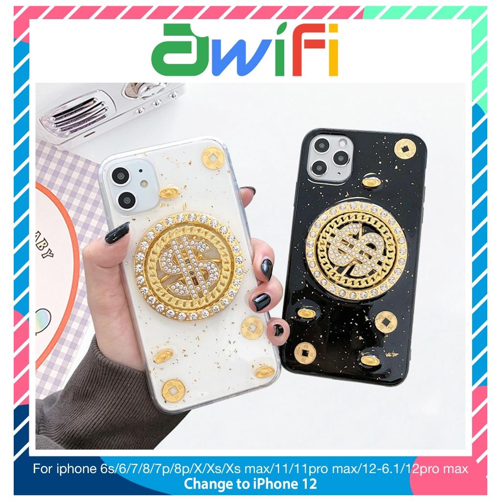 Ốp lưng iphone 3d xoay 360 tài lộc 6/6plus/6s/6splus/7/7plus/8/8plus/x/xr/xs/11/12/pro/max/plus/promax - Awifi Case A2-1