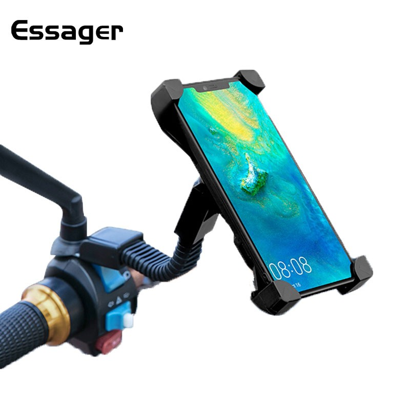 Giá Đỡ Điện Thoại Essager cho iPhone/Huawei Gắn Xe Máy