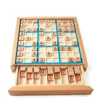 Bộ Đồ Chơi Sudoku Bằng Gỗ Cho Bé