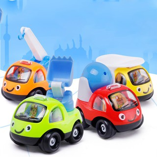 version of the car pulled back to the rocking inertia car children's toys
