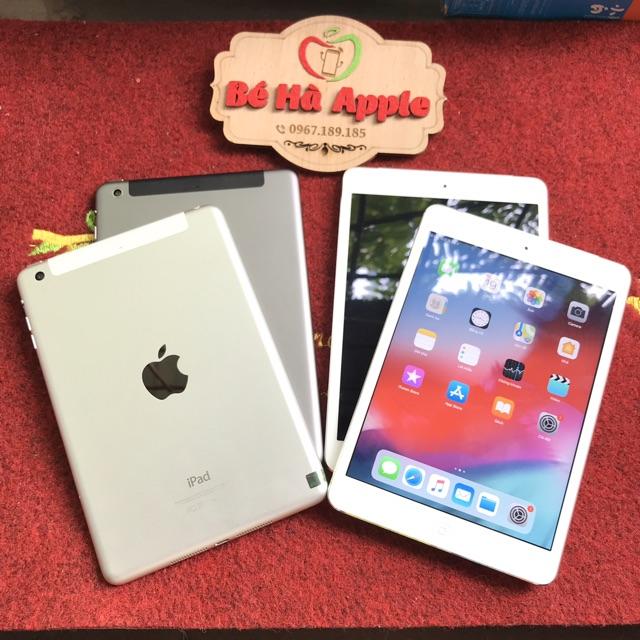 Máy Tính Bảng iPad Mini 2 - 16/ 32/ 64/ 128Gb (4G + Wifi) - Zin Đẹp 99% - Full Phụ Kiện