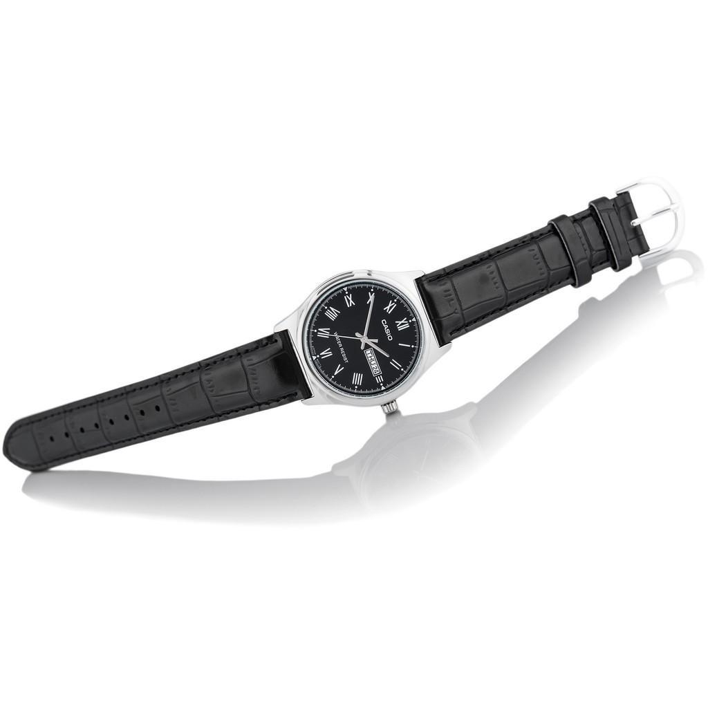 Đồng hồ nam dây da Casio Standard chính hãng Anh Khuê MTP-V006L-1BUDF