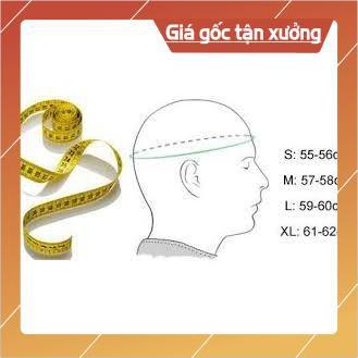 [Giống ảnh] [CAM KẾT ẢNH THẬT] Mũ nón bảo hiểm 3/4 trắng lót cam - NHIỀU MÀU LÓT NÓN