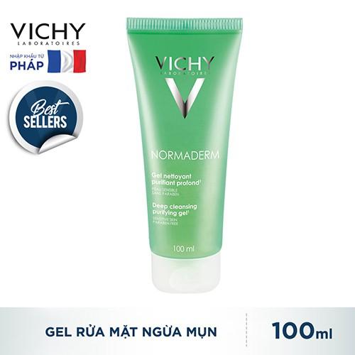 Gel Rửa Mặt Vichy Normaderm Ngăn Ngừa Mụn 100ml_3337871322519