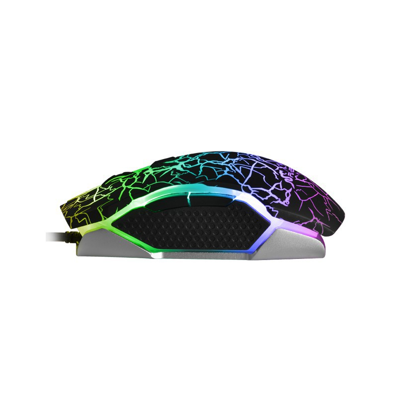 CHUỘT M ÁY TÍNH CÓ DÂY FL ESPORT G50 CÓ DÂY USB MÀU ĐEN CÓ ĐÈN LED