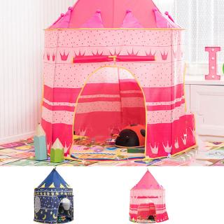 Portable Folding Kids Play Tent Castle Cubby House Children Tent Play House