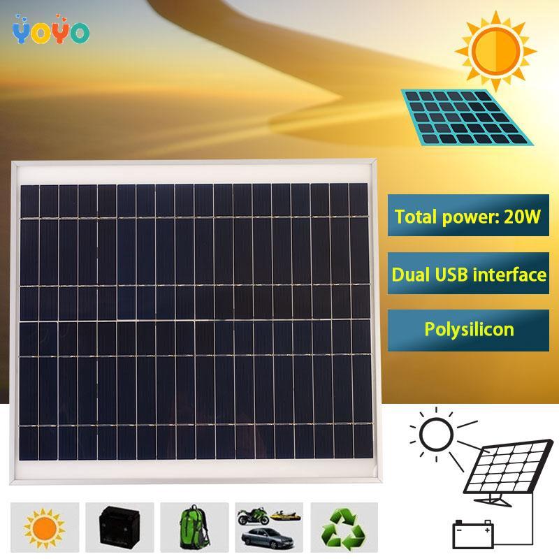 Bộ sạc pin năng lượng mặt trời thông minh