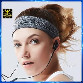 [Mã SKAMSALE8 giảm 10% đơn 200K] Băng đô thể thao headband cotton đeo trán thấm chặn mồ hôi chống trượt bản 5cm