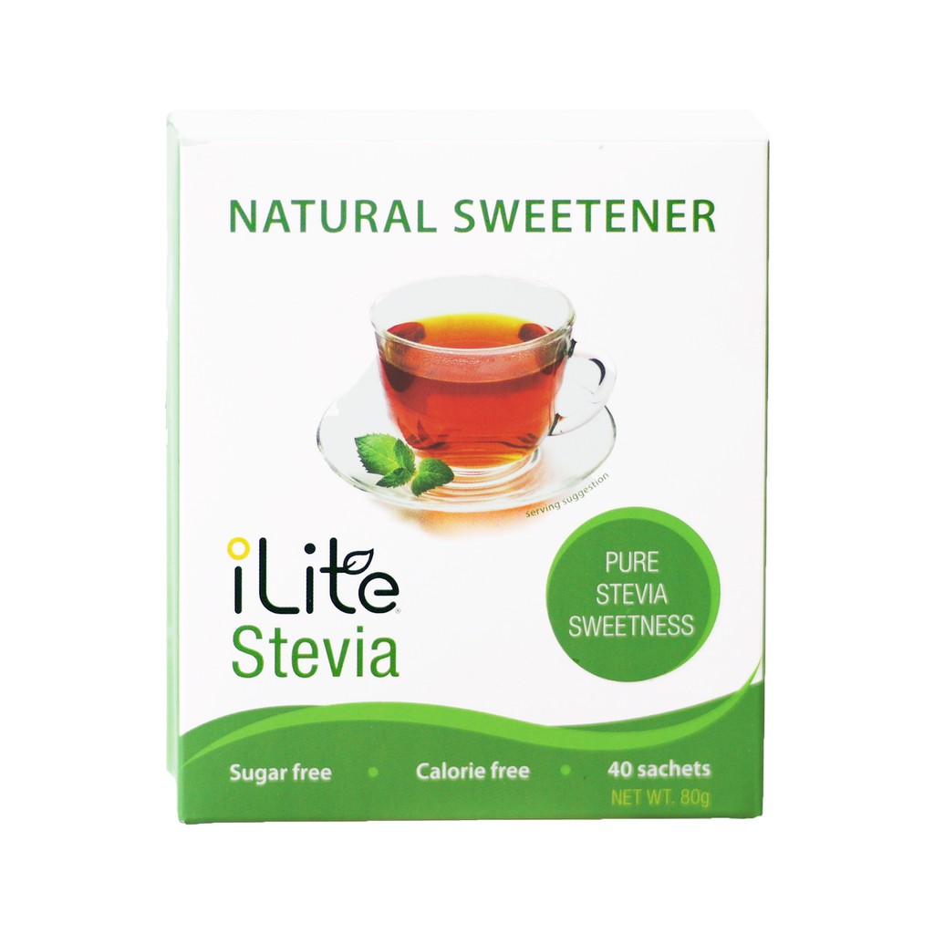Đường cỏ ngọt tự nhiên - đường ăn kiêng - iLite Stevia từ Singapore |  Shopee Việt Nam