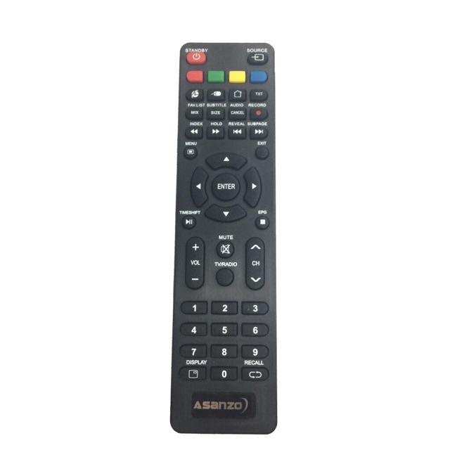 REMOTE ĐIỀU KHIỂN TIVI ASANZO SMART TV CONG N