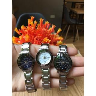 Đồng hồ Nữ Halei dây kim loại không ghỉ, chống nước, chống xước HL028N929