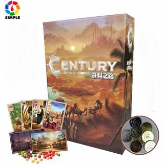 Board game Century Spice Road Eastern Wonders Trò chơi Con Đường Tơ Lụa phần 1+2 khám phá lịch sử bằng game chiến thuật kinh tế Thương Lộ Gia Vị thumbnail