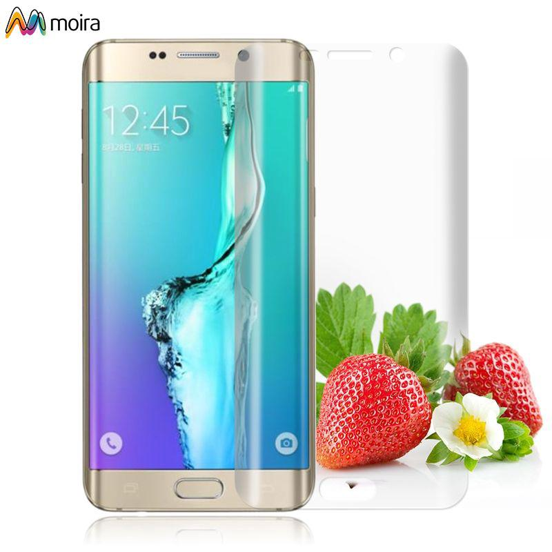 ☽ New 3D Curved Full PET Film Screen Protector For Samsung Galaxy S6 Edge New Moira