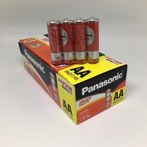 Hộp 60 viên pin tiểu AA Panasonic màu đỏ